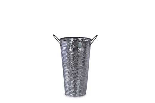 4 PC PK GALVANIZED HAMMERED FRENCH BUCKET